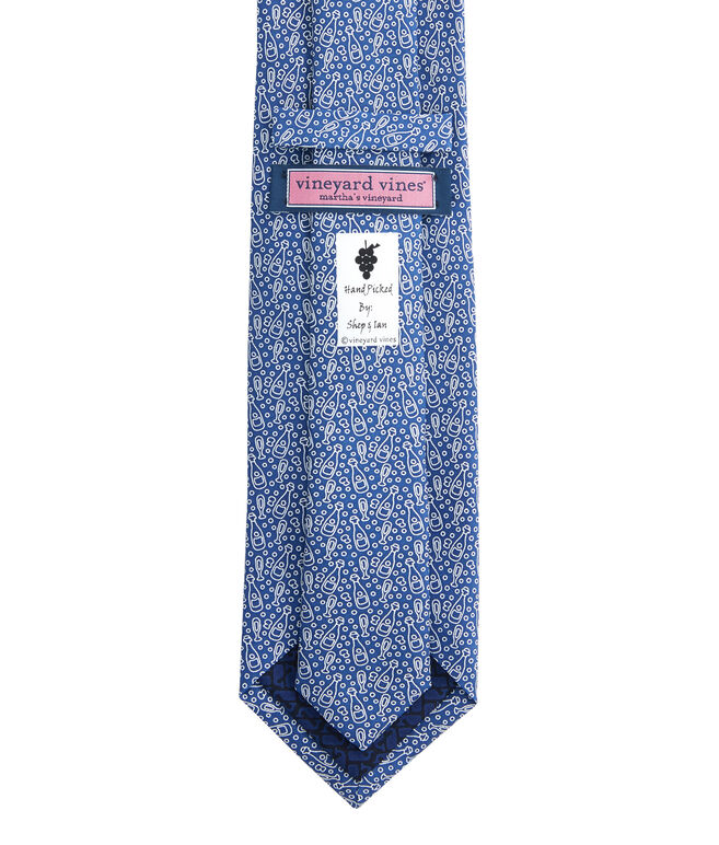 Champagne Printed Tie