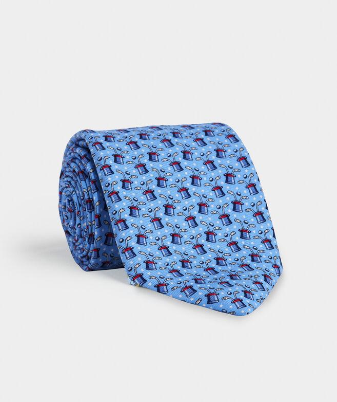 Hat Trick Printed Tie