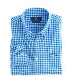 Fish Bay Gingham Slim Tucker Shirt