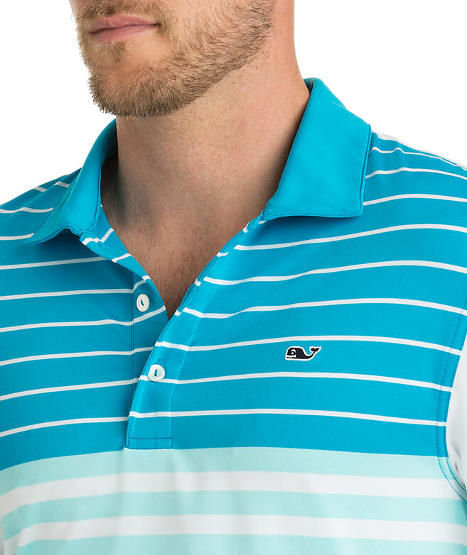 Patterson Stripe Sankaty Performance Polo