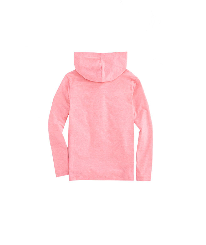 Boys Long-Sleeve Performance Edgartown Hoodie T-Shirt