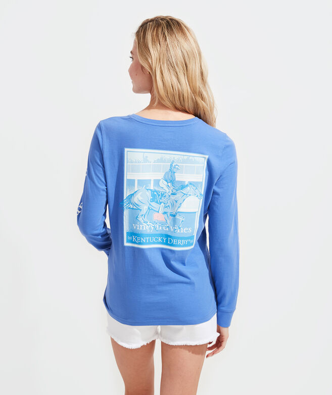 Finish Line Long-Sleeve Pocket Tee