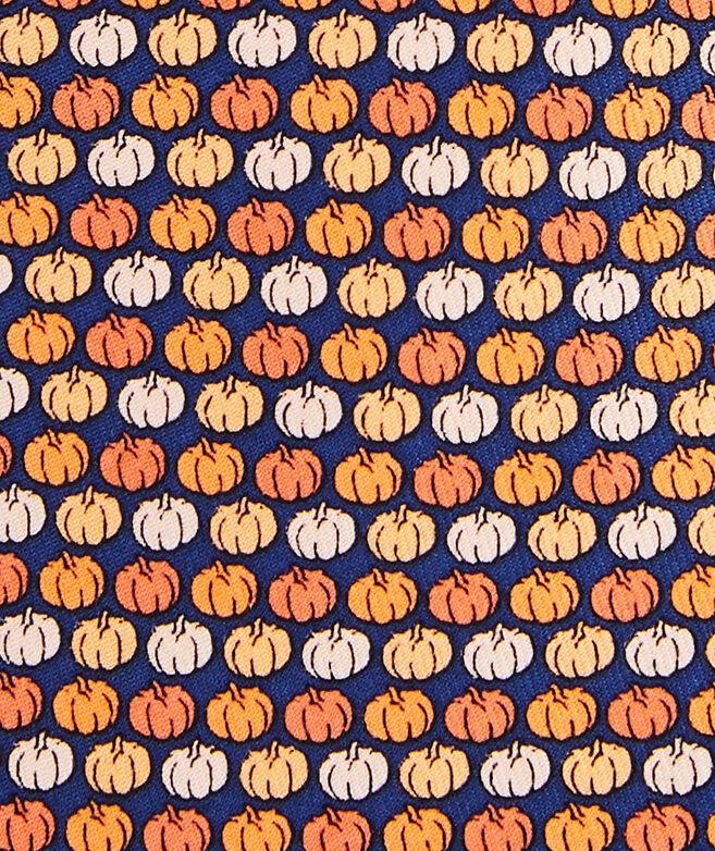 Tonal Pumpkins Printed Tie
