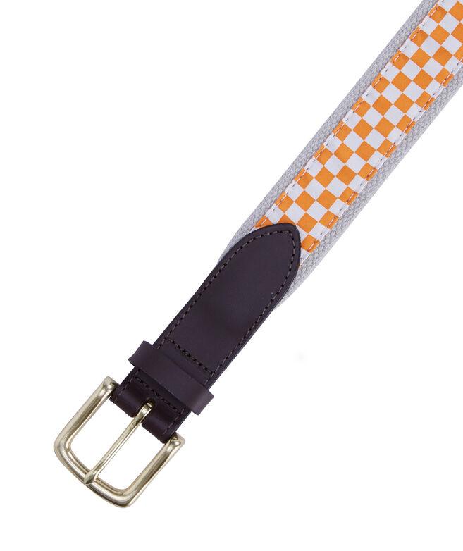 University of Tennessee Canvas Club Belt