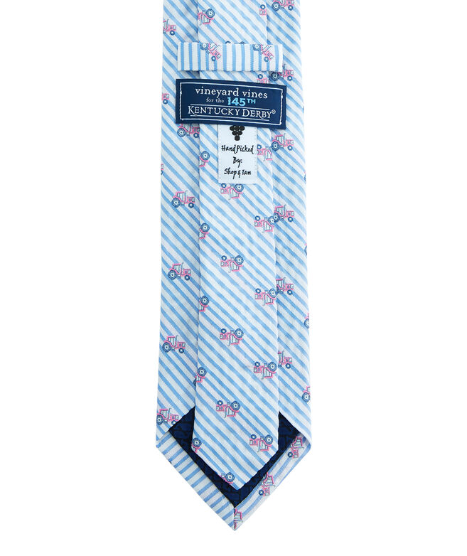 Kentucky Derby Seersucker Icon Shirting Tie
