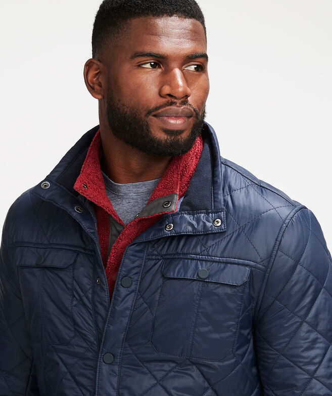 Bartlett Quilted Shirt Jacket