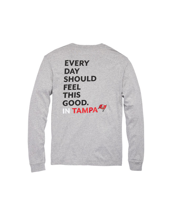 Tampa Bay Buccaneers Long-Sleeve EDSFTG T-Shirt