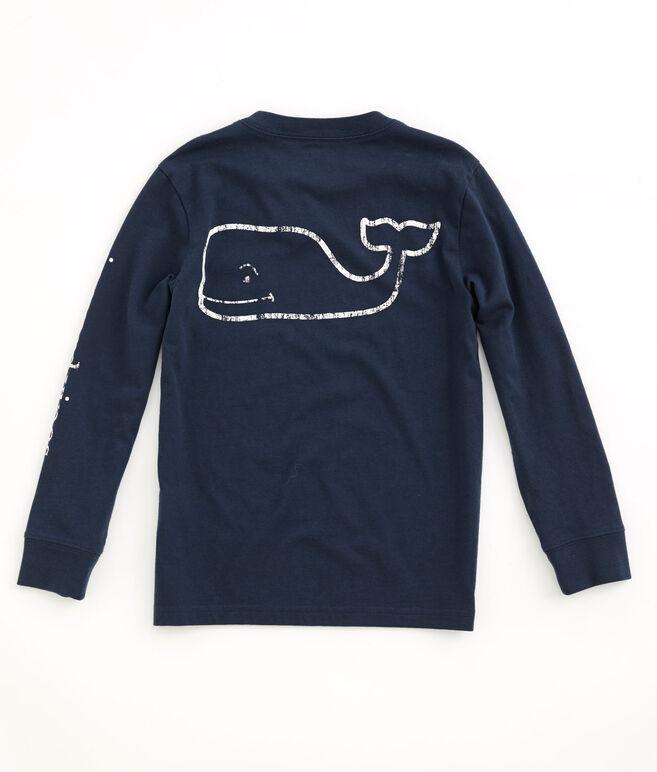 Boys Long-Sleeve Vintage Graphic T-Shirt