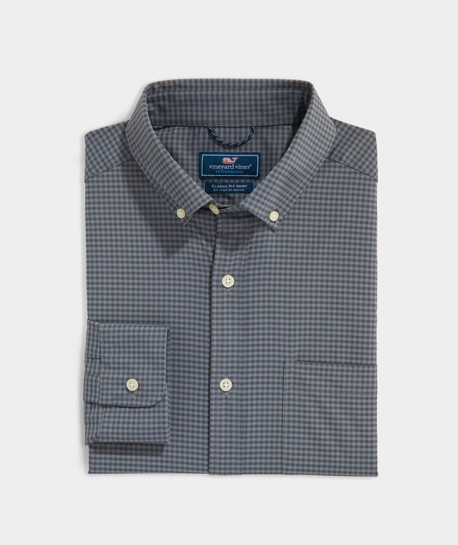 Big & Tall Classic Fit On-The-Go Performance Shirt