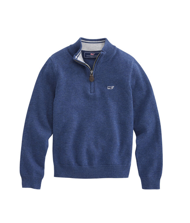 Boys 1/2-Zip Sweater