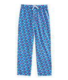 Boys Valentine's Day Whale Lounge Pants