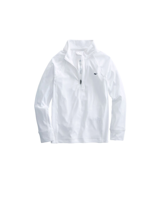 Boys Heather Performance 1/4-Zip