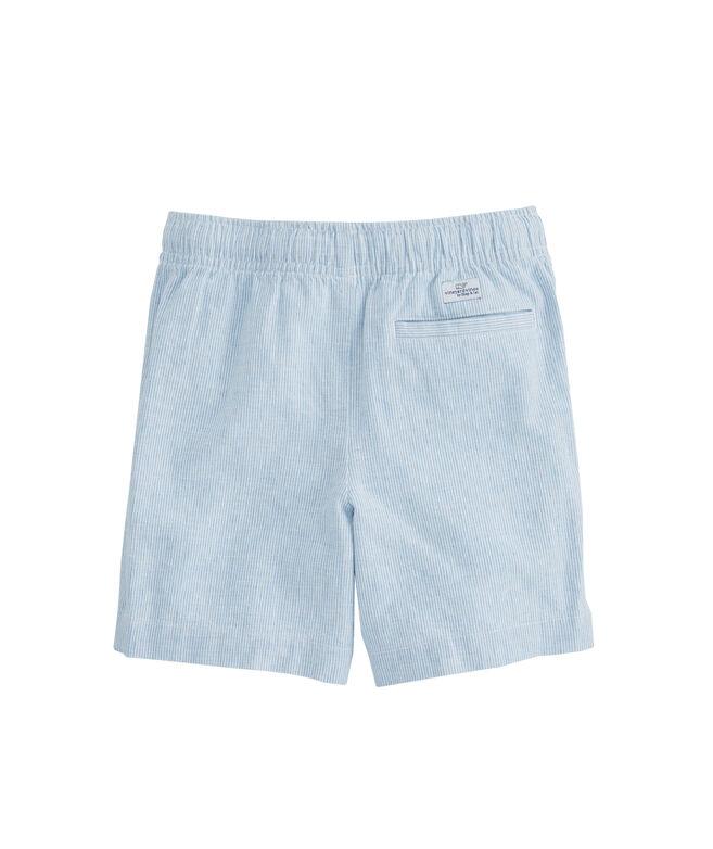 Boys Cotton/Linen Jetty Shorts