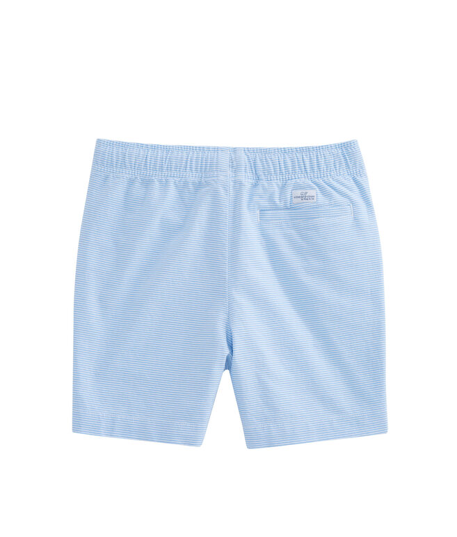 Boys Oxford Stripe Jetty Shorts