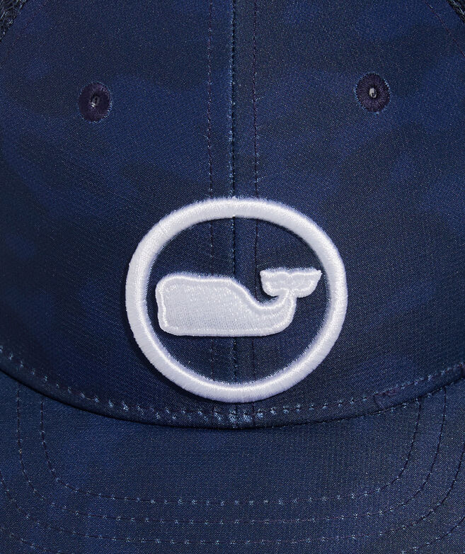Boys' Tonal Camo Whale Dot Trucker Hat