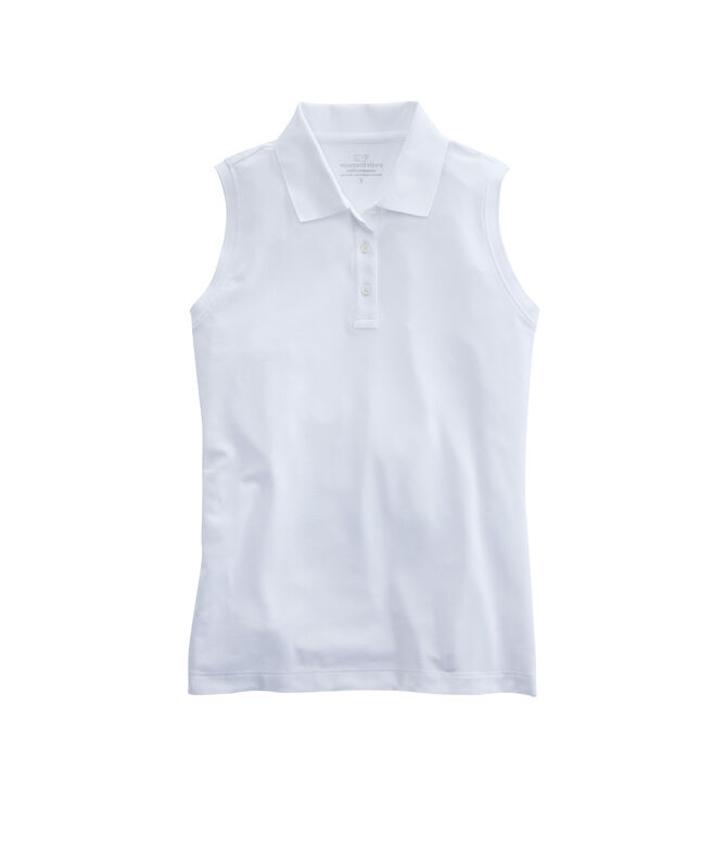 Womens Reene Sleeveless Polo