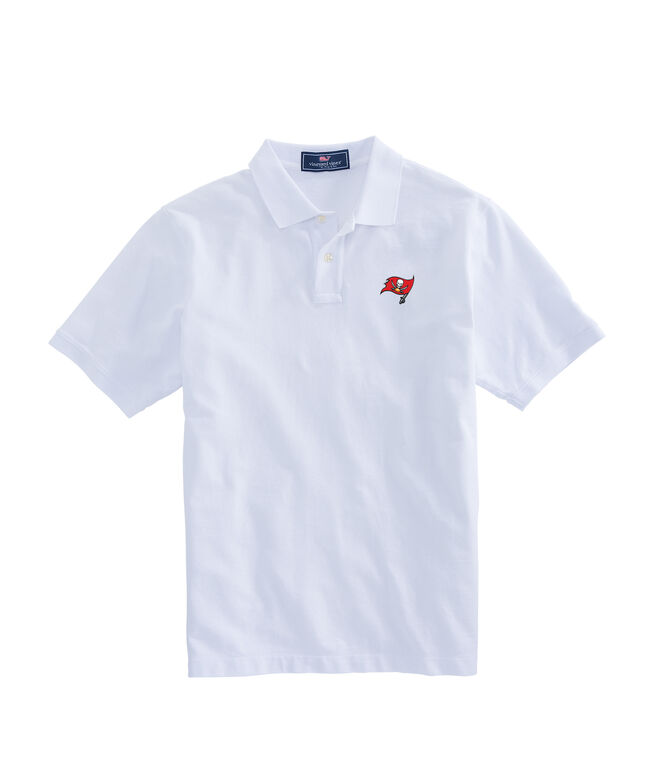 Tampa Bay Buccaneers Stretch Pique Polo