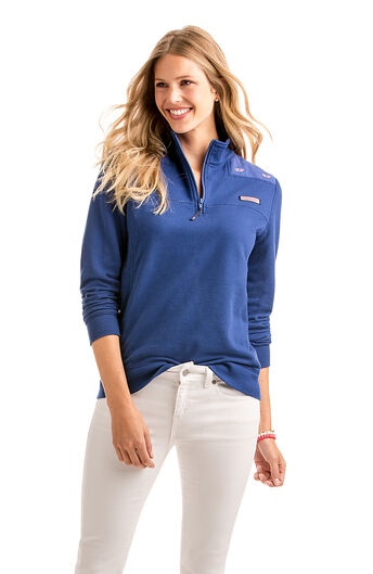 Shop Women S Quarter Zip Amp Pullovers At Vineyard Vines