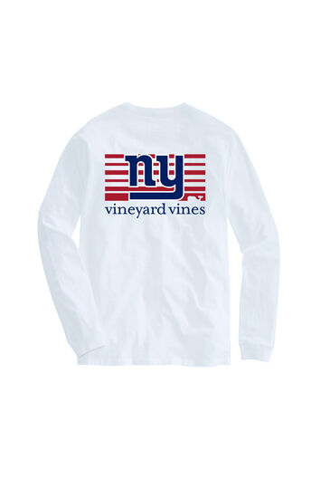 Adult Long-Sleeve Giants Block Stripe T-Shirt 2aac8e5cc
