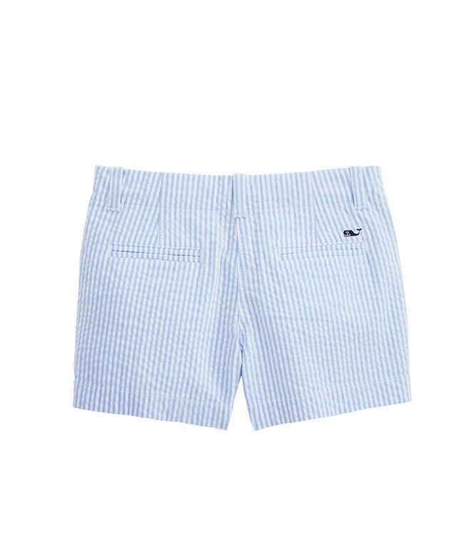 Girls Seersucker Every Day Shorts