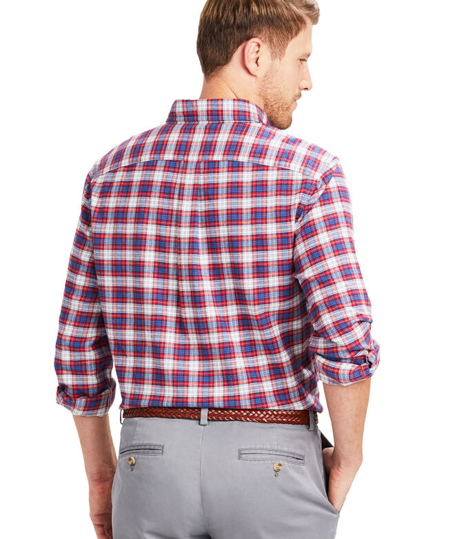 Classic Fit Squaw Flannel Murray Button-Down Shirt