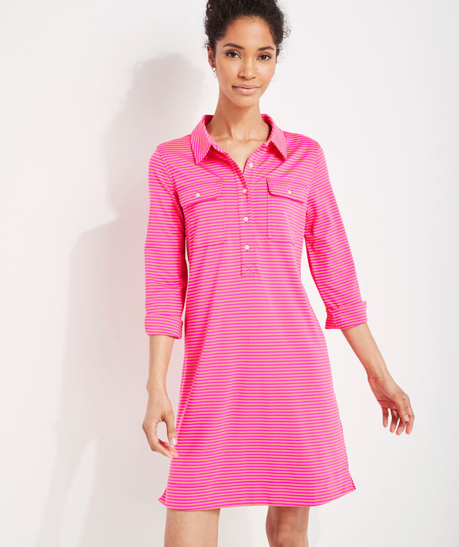Striped Sankaty Margo Shirt Dress