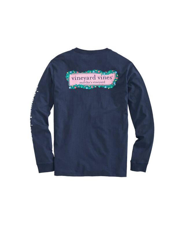 Garland Logo Box Long-Sleeve Pocket T-Shirt