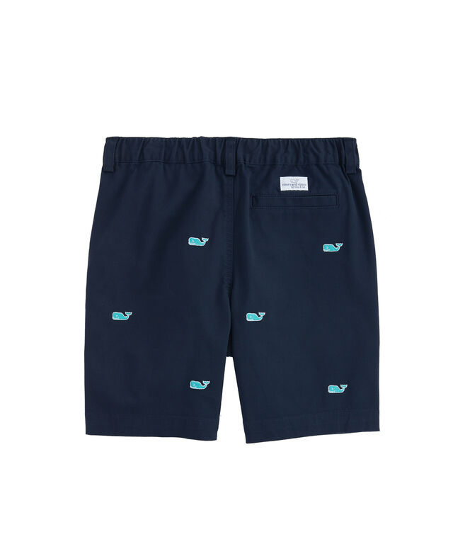 Boys Embroidered Stretch Jetty Shorts