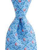 Boys Lacrosse Sticks & Helmets Tie