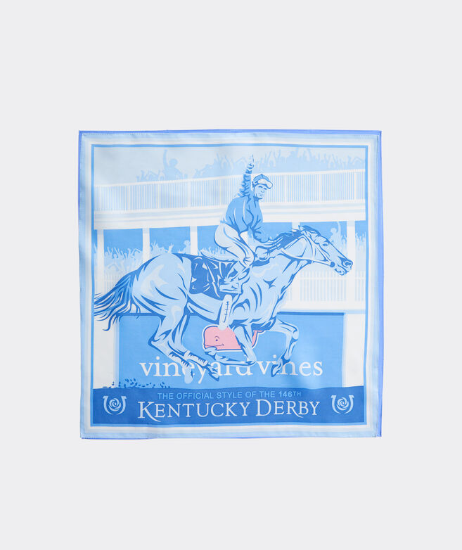 Kentucky Derby Finish Line Pocket Square