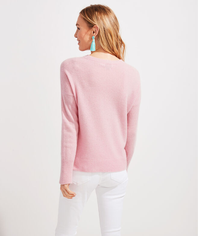 Palm Beach Lately Lofty Cashmere Crewneck Sweater