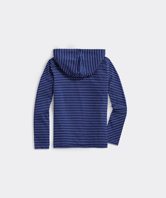 Boys' Super Soft Jersey Long-Sleeve Hoodie Tee