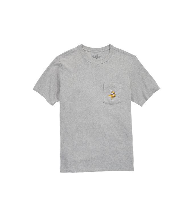 Minnesota Vikings Block Stripe T-Shirt