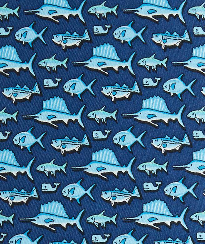 Total Fisherman Printed Tie