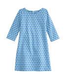 Girls Diamond Whaletail Tisbury Dress