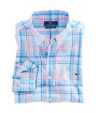 Saba Rock Plaid Slim Tucker Shirt
