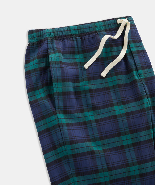 Plaid Flannel Pajama Pants
