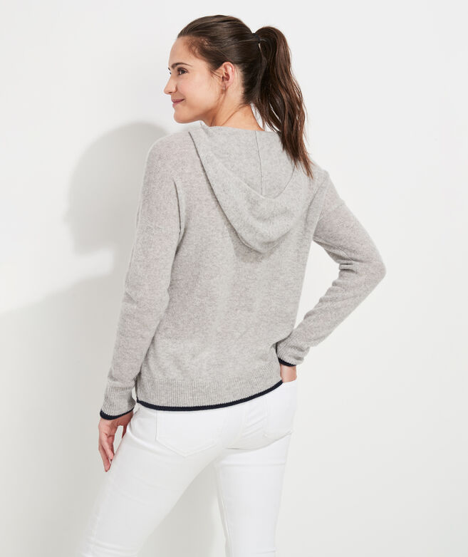 Lofty Cashmere Hoodie Sweater