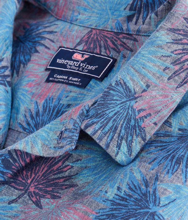 Short-Sleeve Flagstaff Chambray Cabana Collar Shirt