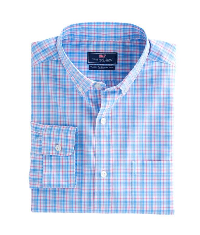 Off Island Plaid Classic Murray Shirt