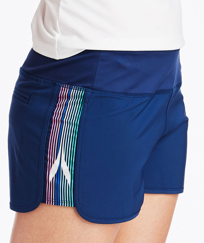 Whale Stripe Performance Shorts