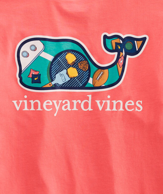 Boys Tailgate Whale Fill Short-Sleeve Pocket Tee