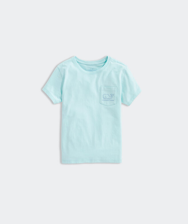 Girls' Vintage Whale Pocket Tee