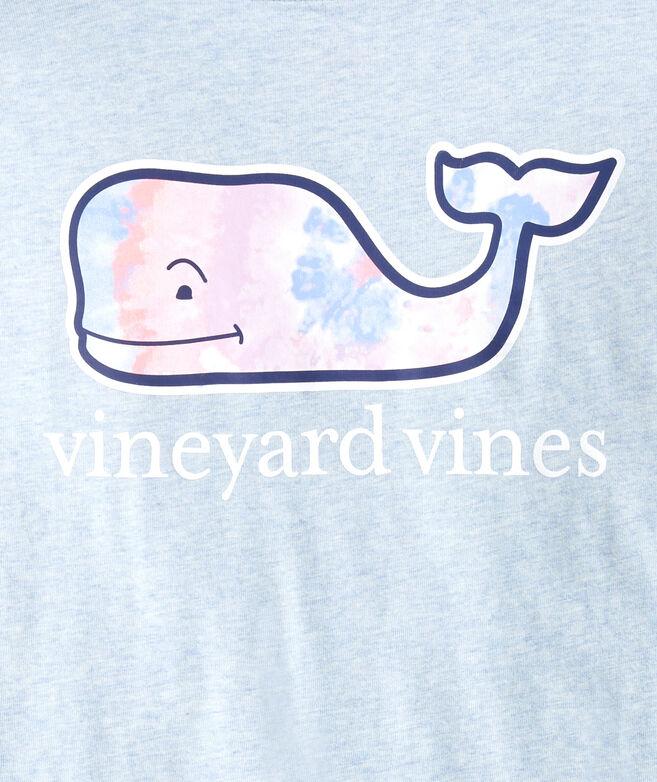 Girls' Long-Sleeve Tie Dye Swirl Whale Fill