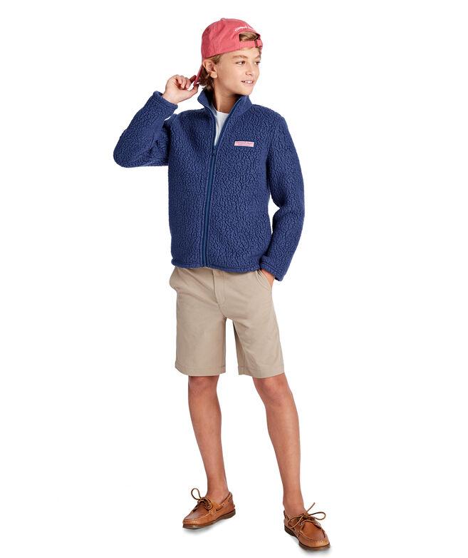 Kids Heritage Sherpa Full-Zip Jacket