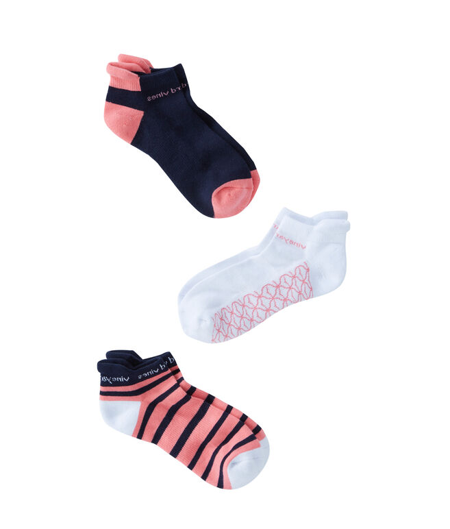 Womens 3-Pack Athletic Socks