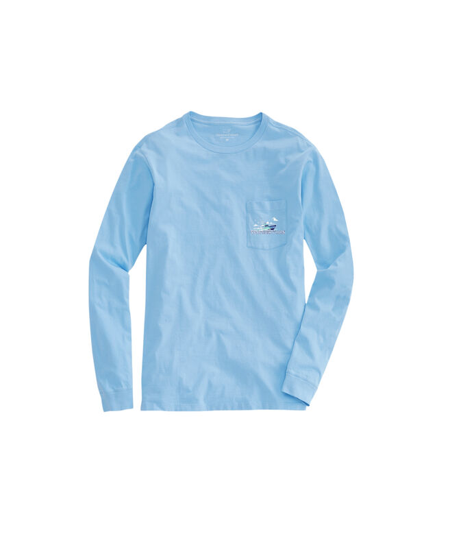 OUTLET Sport & Sail Long-Sleeve Pocket Tee