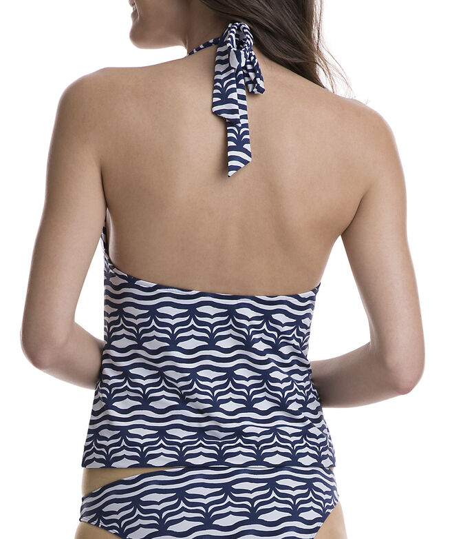 Whale Tail Wave Tankini