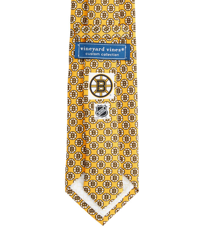 Mens Boston Bruins Tie