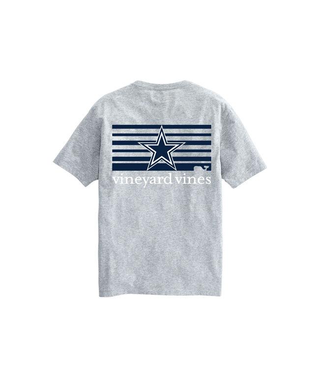 2a335cc2 Shop Adult Cowboys Short-Sleeve Block-Stripe T-Shirt at vineyard vines
